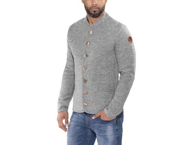 Maloja MilaunM. Alpine Chaqueta de lana Hombre, grey melange